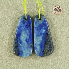 EA13635  Beautiful Lapis Lazuli Earrings Bead by Artiststone