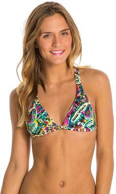 Volcom Walk A'Bout Halter Bikini Top 8132651