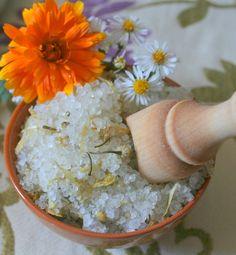 Organic Calendula Chamomile Bath Soak