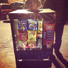 Cool Vending Machine Child Costume... Coolest Halloween Costume Contest