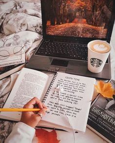 Morning Inspiration discovered by - Studying Motivation Autumn Aesthetic, Book Aesthetic, Flower Aesthetic, Aesthetic Photo, The Best Revenge, Morning Inspiration, Blog Inspiration, Autumn Cozy, Coffee And Books