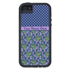 A pretty and customizable Tough Xtreme Case to protect your iPhone 5/5s, with a mix'n'match pattern of Polka Dots and Violets, one of the February Birth Month Flowers, from a watercolour painting by Judy Adamson. Part of the Posh & Painterly 'Sweet Violets' collection: up to $59.95 - http://www.zazzle.com/custom_iphone_5_5s_case_violets_and_polka_dots-179751456676936630?rf=238041988035411422&tc=pintw