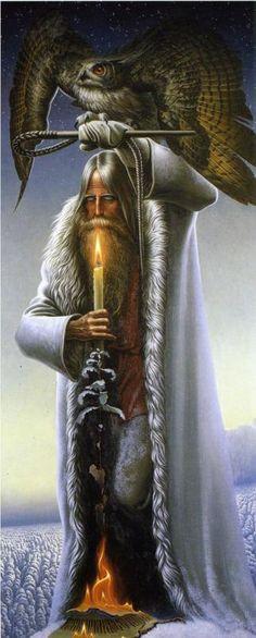 THE MAN WITH THE OWL BY KONSTANTIN VASILYEV