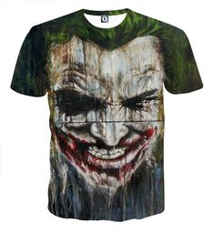 Inventive Batman The Dark Knight The Joker Suicide Squad Printed Men Cool T Shirt Cotton Tshirt Tee Camisetas Masculina Tops & Tees