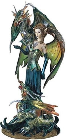 StealStreet SS-G-91278 Fairy Collection Pixie with Dragon Fantasy Figurine Figure Decoration StealStreet http://www.amazon.com/dp/B003EVOCC4/ref=cm_sw_r_pi_dp_4usbxb06ND3H7