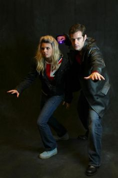 #cosplay #Doctor_who #rose_tyler #9th_doctor