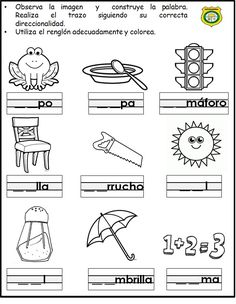 Spanish Teaching Resources, Teaching Activities, Spanish Activities, Bilingual Education, Kids Education, Letter Worksheets, Spanish Worksheets, Teacher Boards, Alphabet Coloring Pages