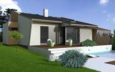 Návrh rodinného domu Tre PACe od APEX ARCH s.r.o. Outdoor Decor, Home Decor, Decoration Home, Room Decor, Home Interior Design, Home Decoration, Interior Design