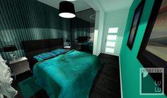 Mała sypialnia projekt