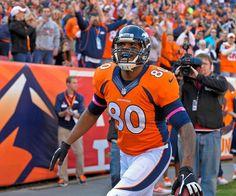 Denver Broncos tight end Julius Thomas