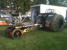 Modified tractor at Marion,in 2012