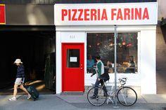 Pizzeria Farina in Vancouver. - coloration