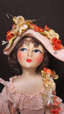 """Blossom Boudoir Doll All-Original 29"""""""