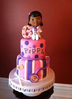 For my niece, Doc Mcstuffins Disney cake