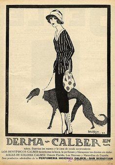 Baldrich, Derma Calber dentifrice, 1920