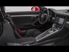 New Car 2017: 2018 Porsche 911 GT3 INTERIOR