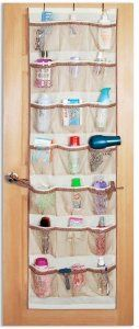 Pro-Mart DAZZ Over-the-Door Organizer, Beige – Closet Storage And Organization Products: Mother's Day Gift Over The Door Organizer, Door Shoe Organizer, Door Storage, Kids Storage, Closet Storage, Clever Storage Ideas, Storage Spaces, Storage Organizers, Photo Storage