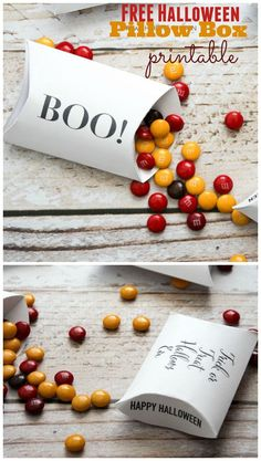 Halloween is such a fun time of year. These free Halloween pillow box printables will defiantly add to the festivities. Anyone who receives this as a gift is sure to love it.