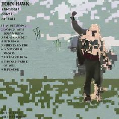 Torn Hawk – Through Force Of Will | 2014  Leftfield, Electro, Synth-pop, Ambient, Experimental | Not Not Fun Records