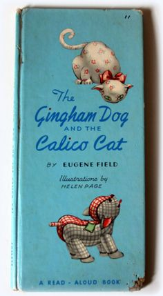 1963 The Gingham Dog and the Calico Cat  by GwynysVintageKitsch.