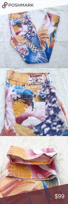 True Religion Casey tropical print skinnies 26 Coming soon True Religion Jeans Skinny