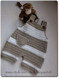 Point par point: pantalons pour bébés