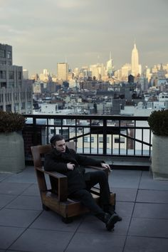 Michael Pitt, photographed by Patrick Fraser.