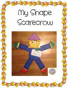 My Shape Scarecrow FREEBIE