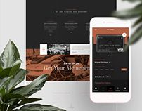 Insignia concierge (London) app & corporate site design