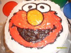 Elmo cake Elmo Cake, Cake Pops, Crafting, Cakes, Princess, Desserts, Kids, Food, Tailgate Desserts