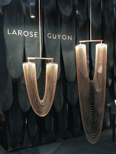 chain pendants from Larose Guyon