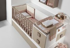 Sobrio Cuarto de bebe | INTERIORES por Paulina Aguirre | Blog de Decoracion | Diseño de Interiores