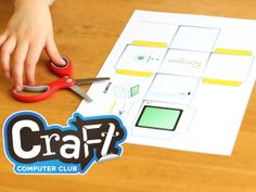 The Craft Computer Club Kickstarter uses accessible paper-based DIY computers to teach computing and programming fundamentals.