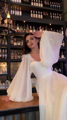 Wedding Dress Bustle, Dream Wedding Dresses, Bridal Dresses, Wedding Gowns, Wedding Shot, Wedding Music, Wedding Reception, Elegant White Dress, Elegant Dresses
