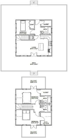 24x24 homes 1 bedroom 1 5 bath 1 066 sq ft pdf for 24x24 house plans