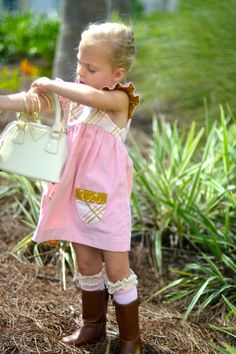 adorable hand made wale corduroy sugar and spice maggie dress by sweet janes clothing