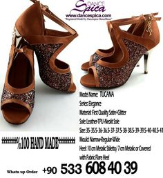 Spica Dance Shoes Elegance Series Tucana Model. %100 Hand Made  www.dancespica.com