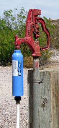 Water treatment idea for your RV .... I would mount it at the entrance to the coach and not as shown here.
