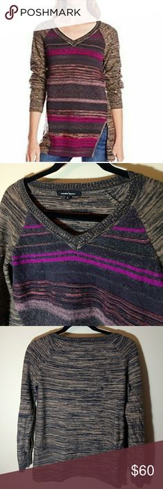 Nanette Lepore Merino Wool Sweater Stunning Nanette Lepore Wool Sweater   Italian merino wool and alpaca blend sweater  Easy pullover style, great investment for the colder months  Modest V Neckline  Size Medium Excellent Pre-Loved Condition ❤️ Nanette Lepore Sweaters V-Necks