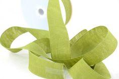 Varie - Nastro di Tessuto di Lino Verdino mm.40 mt.10 - un prodotto unico di raffasupplies su DaWanda