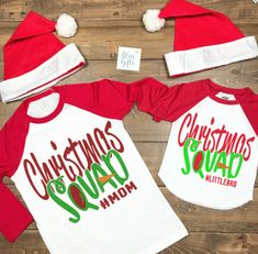 2827641c Christmas Squad, Family Personalized Shirt, Funny Christmas Shirt, Christmas  Shirt, Kids Holiday Shirt, Santa Visit Shirt, Family Shirts, Family