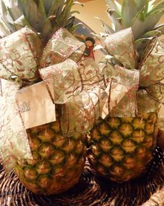Whole Foods gift cards for teachers...attach to pineapple with bow.