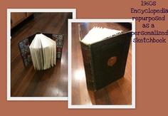 re-binding old books