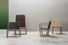 SERENA TEAK chairs, designed by Lievore Altherr Molina for Andreu World
