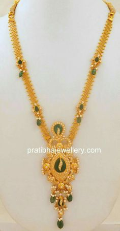 Gold Mangalsutra Designs, Gold Earrings Designs, Gold Jewellery Design, Necklace Designs, Gold Jewelry Simple, Jewelry Patterns, Wedding Jewelry, Stone Necklace, Gold Necklace