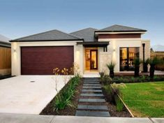 45 GORGEOUS FRONT YARD LANDSCAPING IDEAS ON A BUDGET - Page 25 of 45