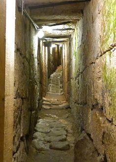 City of David, underground of Jerusalem, archeology, underground city.