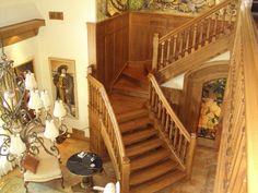 Escalier ouvert fait de merisier Open stais made of birch Birch, Stairs, Home Decor, Open Staircase, Stairway, Decoration Home, Room Decor, Staircases, Home Interior Design
