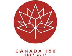 Canada 150 logo one-colour design Canada 150 Logo, Cool Countries, One Color, Colour, Logo Inspiration, Logos, Design, Country, Ideas