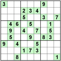 Number Logic Puzzles: 22505 - Sudoku size 9